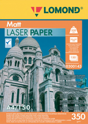 New paper for laser printing with a matte surface, A4, 150 sheets, 350 gsm!