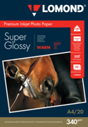 New 340gsm Premium photo paper for inkjet printers with microporous super glossy surface!