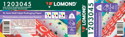 New Lomond XL Photo Papers for large format printing of individual packaging and gift papers