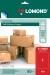 Samolepiace etikety Lomond 1/210x297 A4, 50 hárkov, červená farba