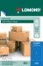 Samolepiace etikety Lomond 1/210x297 A4, 50 hárkov, modrá farba